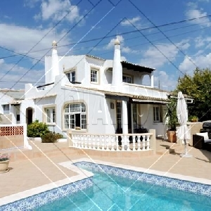 5 Bedroom Sea View Villa (3+2) with Pool Ref 301
